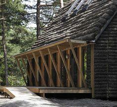 #eco #house #Læsø #seeweeds #denmark