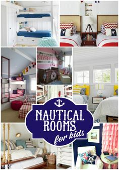 A fabulous collection of nautical rooms for kids on Design Dazzle