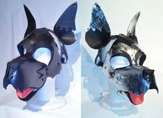 Brother puppy play hoods. Get yours at thewell-keptpet.com Wolf Mask, Spank Me, Mask Ideas, Puppy Play, Masks Art, Hyena, Masking, Dog Toys, Fashion Men