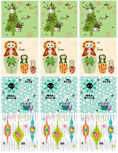 Skellify all your gifts with these fun skelly tags from Skelly Chic (it's a FREE download); a gift from me to YOU! Enjoy! www.skellychic.com