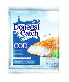 donegal Catch Cod #packaging Food Packaging Design, Beverage Packaging, Bottle Packaging, Brand Packaging, Label Design, Food Design, Food Photography, Frozen, Food And Drink