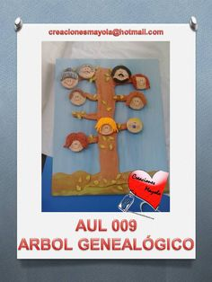 ÁRBOL GENEALÓGICO, http://creacionesmayola.blogspot.com.es/