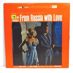 From Russia With Love James Bond 007 Album Cover Purse by 12be
