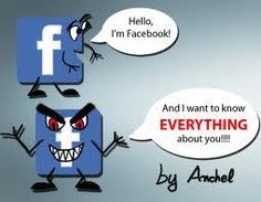 Hello I'm Facebook and I want to know everything about you   Anonymous ART of Revolution
