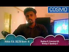 IELTS Trivandrum - COSMO's Nithin Scores 8 in IELTS Exam @ Kerala (India) - YouTube