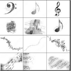 700 Music-Related Photoshop Brushes Free Download