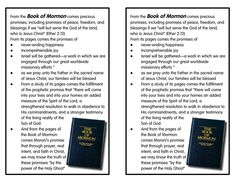 Promises of the Book of Mormon