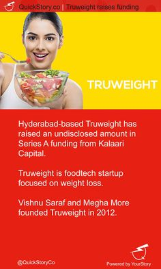 In May 2015, Truweight raised an undisclosed amount in Series A funding from Kalaari Capital.
