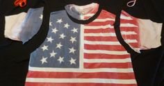 This DIY American Flag tank is perfect for summer!
