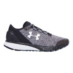 Feel light on your feet throughout your run with the Under Armour Charged Bandit 2 Women's Running Shoes. Stretchy heathered uppers make these sneakers a fraction of the weight of other womens running shoes and let air in to ventilate your feet.