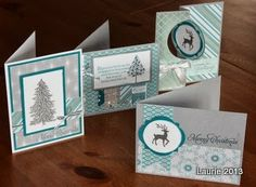 Act of Stamping: In Style Christmas cards