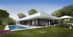 Modern detached villa for sale with 3 bedrooms and a large plot of land, Bombarral, Silver Coast, Portugal