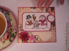 Webster's Pages Christmas Card Tutorial