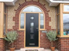 arched frame front door - Google Search