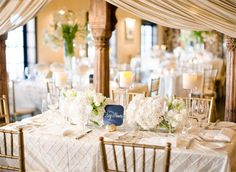 gold table cloths wedding - Google Search