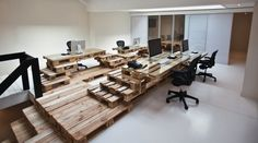 Office-Design with Europallets