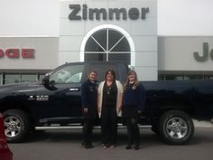 This upcoming football season will see Zimmer CDJR once again supporting our local high schools FFA clubs. From RAM trucks to minivans and SUVs we've got it covered! Featured today we have Cooper HS. Here is Cathy Zimmer with VP Bethany Slagle (left) and President Cassidy Cupps (right)! Make sure you get out there and support the efforts of your local FFA group and give the youth of today the support they need to lead us tomorrow! www.zimmermotors.com