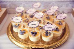 Pink and Gold baby shower via Kara's Party Ideas KarasPartyIdeas.com Cake, banner, desserts, favors, and more! #girlbabyshower #elegantbabyshower #pinkandgold (15)