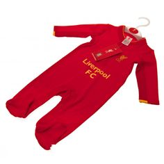 Baby Sleepsuit To Fit Months Main: Cotton Trim: Cotton Elastane Official Licensed Product Product model: Liverpool Fc Gifts, Liverpool Fans, Gifts For Football Fans, Uk Football, Sweatpants, Fitness, Model, Cotton, Clothes