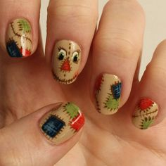 What Christmas manicure to choose for a festive mood - My Nails Halloween Toe Nails, Fall Toe Nails, Toe Nail Designs, Acrylic Nail Designs, Mani Pedi, Nail Manicure, Pedicure, Cute Nails, My Nails