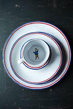 Astier de villatte ceramics in my space www.monicadamonte.com