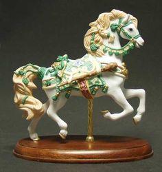 1999 Lenox Irish Horse Carousel Horse
