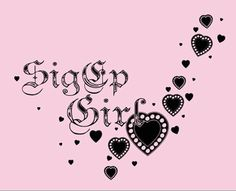 Sig Ep Girl <3 I love that it's not the full badge so we can actually wear it!