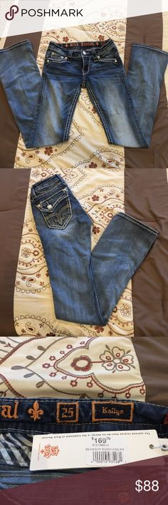 Rock Revival Size 25 originally bought for $169 at buckle but wore once and didn't fit me again Rock Revival Jeans Boot Cut