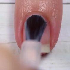 Beauty Hacks Nails, Nail Art Hacks, Nail Art Diy, Diy Nails, Diy Nagellack, Nagellack Design, Halloween Acrylic Nails, Best Acrylic Nails, Nail Art Designs Videos