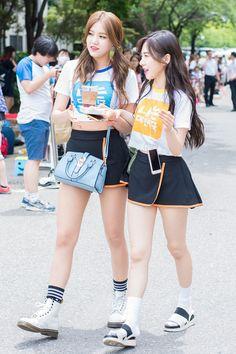 AOA - Hyejeong + Mina