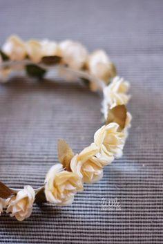 diy corona flores, Primera Comunión, #peinadosniña
