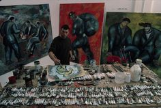 Cultura Colectiva te presenta 29 fotografías de estudios de los grandes artistas: