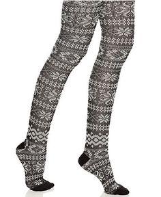 Kensie Tights, Nordic Sweater - Handbags & Accessories - Macy's