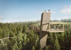 Besucherzentrum Nationalpark Nordschwarzwald, Skywalk