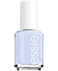 Give your nails a sweet treat with Essie nail polish is Saltwater. This beautiful blue pastel puts everyone's favorite beach candy in your fingertips.
