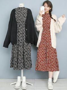 Korea Fashion, Asian Fashion, Retro Fashion, Womens Fashion, Chubby Fashion, Curvy Girl Outfits, Friends Fashion, College Fashion, Korean Outfits