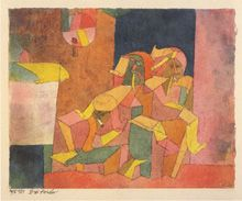 "Paul Klee ""Three Arabs"" 1915"