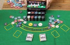 Poker Chips Set - 200 pcs Poker Chips Table Cloth Dealer Blinds Playin - INNOVATIVE PRODUCTS PORTAL - MyProductPortal.com