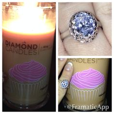 Diamond Candle!