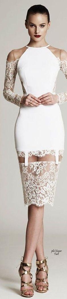 Cristina Savulescu AW 2015-16. Sexy reception dress? #coupon code nicesup123 gets 25% off at Provestra.com Skinception.com