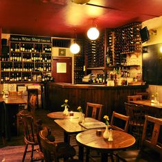 The best wine bars in London, from old school spots  that serve good quality wine and food to newer ones that offer sharper cookery and more adventurous wines, many of which are available by the glass.