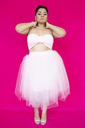 """""""Pretty in Pink"""" TuTu #fatshion #plussize $75.00"""