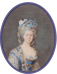Louis Xvi, Miniature Portraits, Miniature Paintings, Court Dresses, French History, Elisabeth, Daguerreotype, France, Art Studies