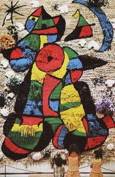 Uno de los tapices diseñados por Miró que desaparecieron en el World Trade Center el 9/11