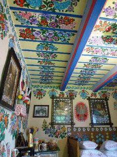 traditional interior preserved in Zalipie Museum, Poland (tripadvisor)