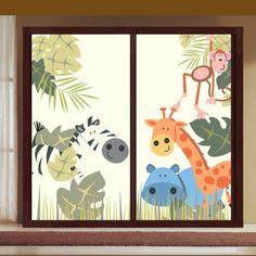 Amazing fensterdeko kinderzimmer tiermotive Badezimmer Ideen u Fliesen Leuchten Dekoration Pinterest Fur and Dekoration