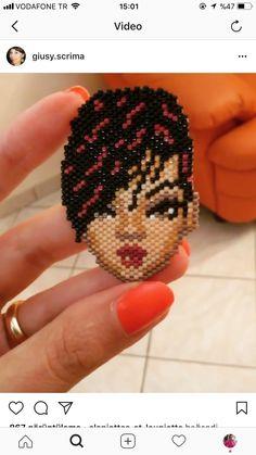 Brick stitch Rihanna