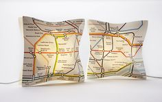 These London Underground Table Lamps are so much fun- and give out a beautiful gentle light. A perfect present for any Londoner- wherever they live! Great for bedrooms and hallways. http://designessentials.org.uk/product/london-underground-table-lamp/