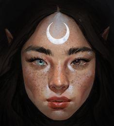ArtStation - Moon, sara meseguer