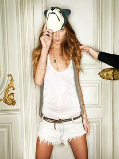 Erin Wasson by Fred Meylan for Zadig & Voltaire ss 2012
